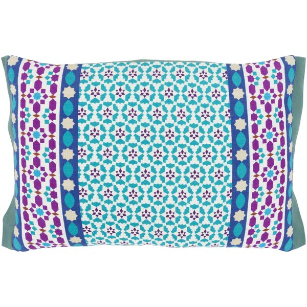 Bruno 100% Cotton Lumbar Pillow Cover by Bungalow Rose